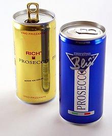 Prosecco Wine in a Can