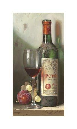 Bottle of Chateau Petrus