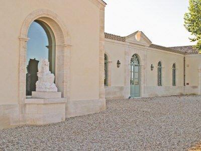 Wine Cellar, Chateau Petrus, Pomerol, Bordeaux, France