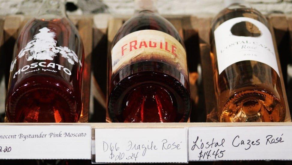 Innocent Bystander Moscato wine